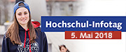 Infobutton: Hochschulinformationstag am 5. Mai 2018